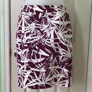 Loft skirt nwot size 0